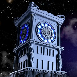 p-Bandai HK Saint Seiya Myth Cloth Fire Clock of the Sanctuary
