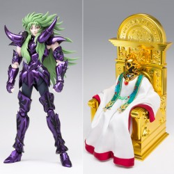 p-Bandai HK Saint Seiya Myth Cloth EX Aries Shion (Surplice) & The Pope Set